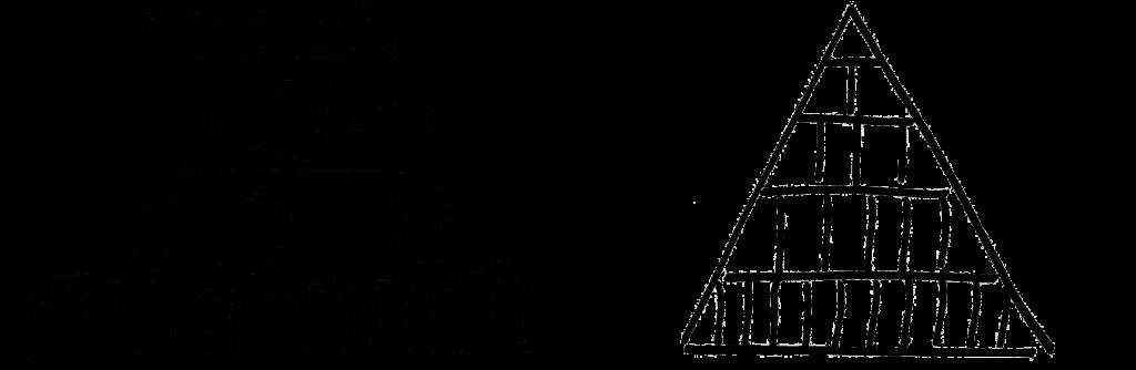 Linienmodell-Pyramide