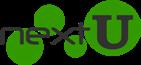 nextU Logo sattgrün 141x65